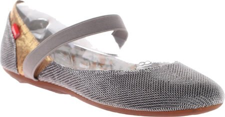 Dimmi Womens Tend Flat Shoe New Pewter cRbmmy3m