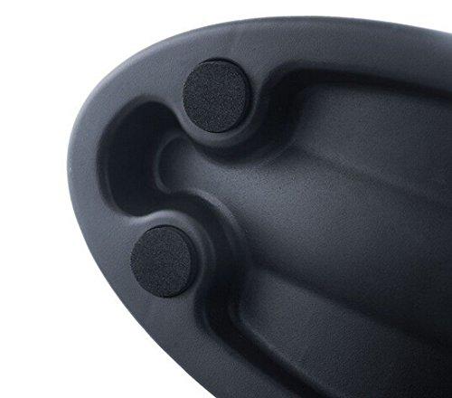 Gugou Steel Quick Release Skewer and Front Wheel Riser Block for Indoor Bike Trainerndoor Bicycle Trainers (bike block)