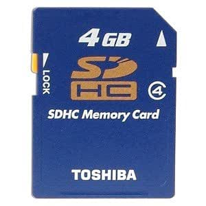 Amazon.com: Toshiba 4GB High Speed SDHC Memory Card ...