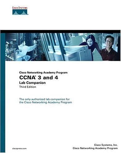 ccna 3 and 4 lab companion cisco networking academy program 3rd rh amazon com CCNA Lab Topology CCNA Simulator Software