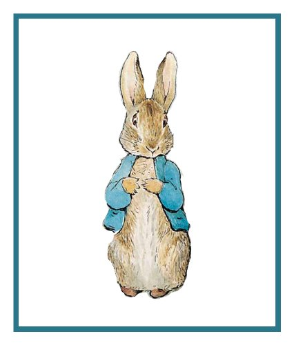 Orenco Originals Peter Rabbit Inspired by Beatrix Potter Counted Cross Stitch Pattern