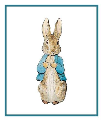 Rabbit Stitch Pattern Peter Cross (Orenco Originals Peter Rabbit inspired by Beatrix Potter Counted Cross Stitch Pattern)