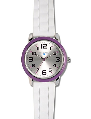 Nurse Mates Color Top Ring Watch Purple