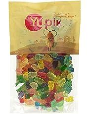 Yupik Candy Gummy Bears 12 Fruit Flavors, 1 Kilogram