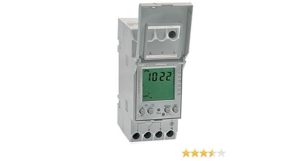 Blanco Gr/ässlin Talento 371 Mini Pro Interruptor Horario Digital