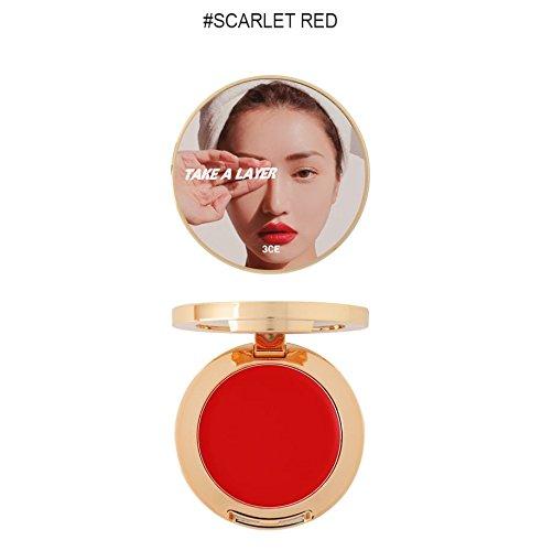 3CE (3 Concept Eyes) Take A Layer Multi Pot (Scarlet Red)