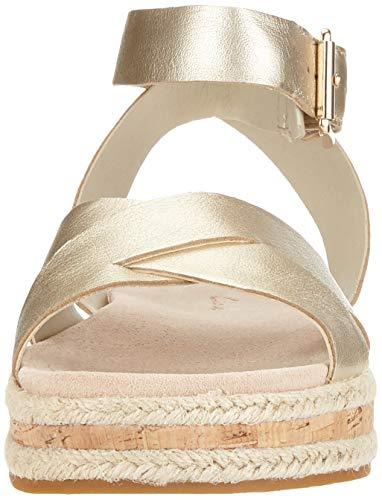 Caviglia Botanic Argento Clarks Sandali champagne Alla Con Poppy Donna Cinturino c1BddqOYw