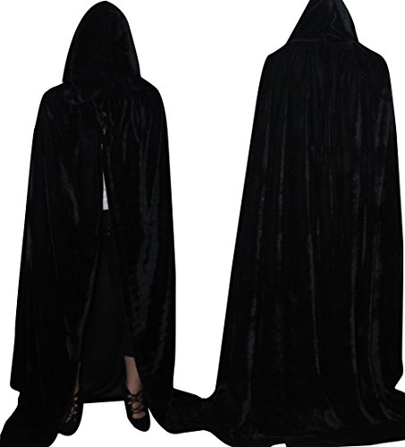 JudyBridal Halloween Witch Cloak Cape Cosplay Dress Up Unisex Costumes XL (Magician Costume Target)
