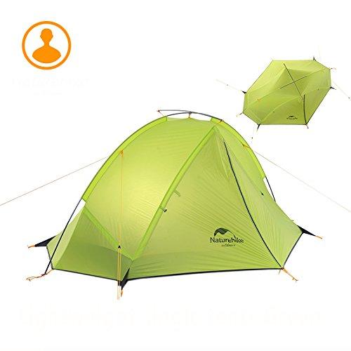 1/2personnes ultraléger randonnée Tente Camping simple couche étanche Tente (Bleu foncé et vert Options de couleur)