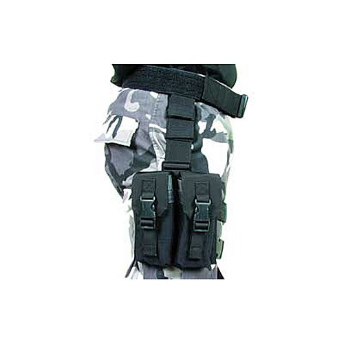 BLACKHAWK! Omega Elite M16 Mag Pouch (Holds 4) - Black