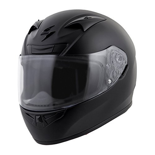 Scorpion EXO-R710 Solid Street Motorcycle Helmet (Matte Black, Large)