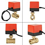Maxmartt Motorized Ball Valve, Brass 2 Way