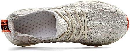 Fushiton Mens Women Trainers Fashion Slip On Blade Trail Running Shoes Men Casual Sports Athletic Tennis Walking Shoe Mesh Sneakers