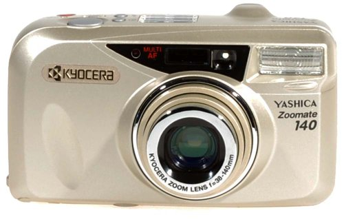 YASHICA ZOOMATE 140 AUTOFOCUS 35mm ZOOM FILM CAMERA