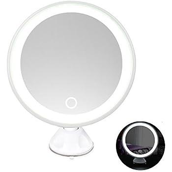 Amazon Com Rantizon Led Makeup Mirror 7x Magnifying