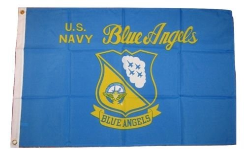 - 2x3 U.S. Navy Blue Angels Naval Flag 2'x3' House Banner Brass Grommets by I.E.Y.online-store
