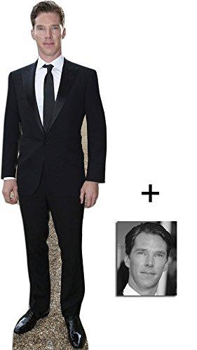 Fan Pack - Benedict Cumberbatch Lifesize Cardboard Cutout / Standee / Standup - Includes 8x10 (20x25cm) Photo