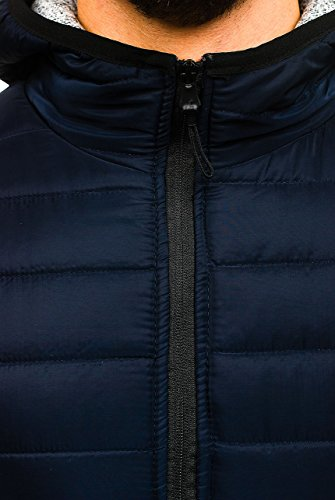 Uomo Bolf A Blu Di Stile Con 4d4 Moda Mezza – Zip Stagione Giacca Cappuccio Da Chiusa Mimetica ak53 Quotidiano q1rgqZxw