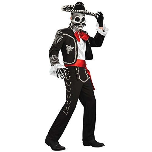 Latino Costume (Rubie's Costume Co Men's Grand Heritage El Senor Costume, Multi, Standard)