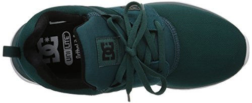 DC Women's Heathrow Comfort Shoe, Teal, 9.5 M US