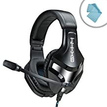ENHANCE GX-H4 Stereo Gaming Headset with Adjustable Microphone & Noise-Isolating Earphones - Works with Starcraft II: Legacy of the Void , Fallout 4 , Star Wars: Battlefront & more PC Games!