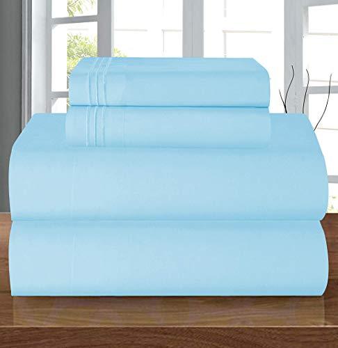 Elegant Comfort Luxury Soft 1500 Thread Count Egyptian 3-Piece Premium Hotel Quality Wrinkle Resistant Coziest Bedding…