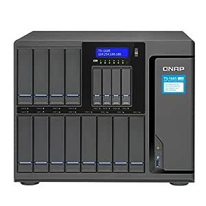 QNAP TS-1685 Ethernet Escritorio Negro NAS - Unidad Raid (Unidad ...