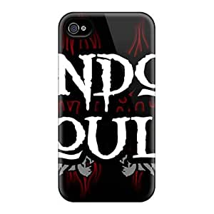Bumper Hard Cell-phone Case For Iphone 4/4s With Allow Personal Design High-definition Godsmack Band Series JohnPrimeauMaurice