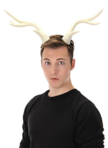 - elope Light-Up Deer Antlers White LumenHorns