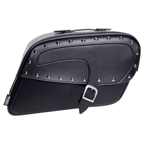 Castle Streetbags Kickback Large Motorcycle Saddlebags - Studded