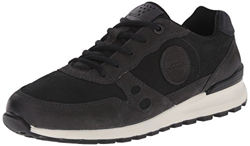 ECCO Footwear Womens Women's Cs14 Casual Sneaker, Moonless/Black 40 EU/9-9.5 M US