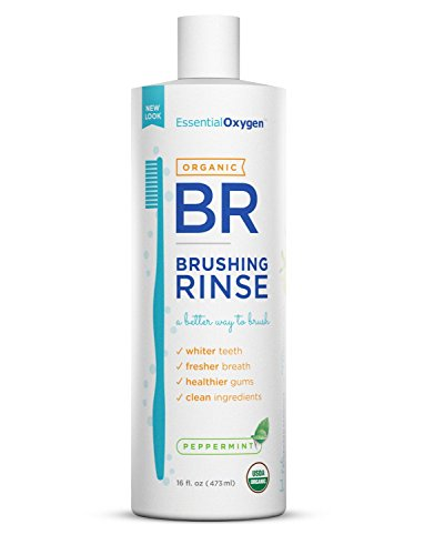 Essential Oxygen Peppermint Brushing Rinse