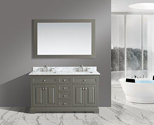 UrbanFurnishing net Rochelle 60 Inch Bathroom Distressed