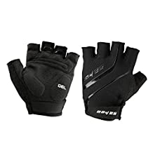 WEANAS Non-slip GEL Silicone Bike Bicycle Half Finger Gloves, Comfortable Breathable Attractive, for Outdoor, Cycling, Riding