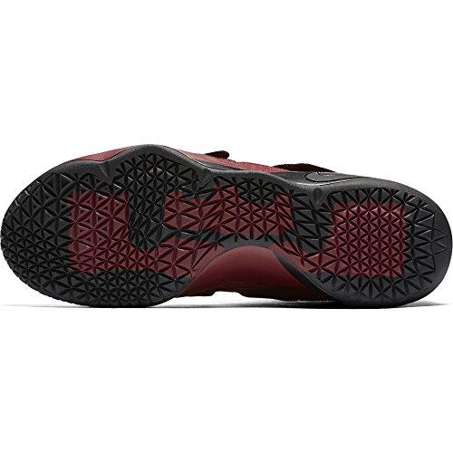 Nike Herren Lebron Soldier 10 Basketballschuhe Team Rot / Schwarz-Weiß-total Crimson