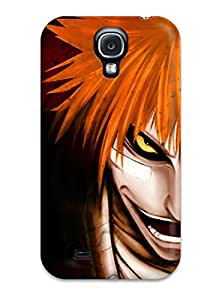 New Style Awesome Bleach Animes Flip Case With Fashion Design For Galaxy S4