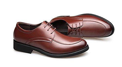 xie Printemps été hommes en cuir chaussures en daim affaires formelles hommes chaussures chaussures mode casual 38-43 Brown bDcqE8b6