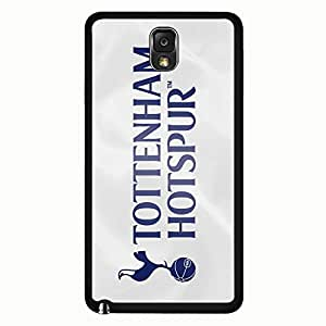 Samsung Galaxy Note 3 Case,Tottenham Hotspur Football Club Logo Protective Phone Case Black Hard Plastic Case Cover For Samsung Galaxy Note 3