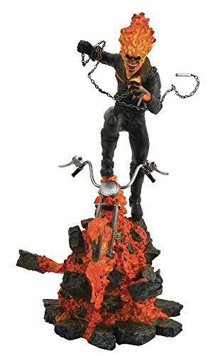 DIAMOND SELECT TOYS Marvel Milestones: Ghost Rider Resin Statue, Multicolor (Ghost Rider Toys)