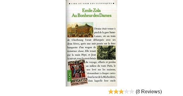 Au Bonheur DES Dames (Petite Bibliotheque Lattes) (French Edition): Zola: 9782709606974: Amazon.com: Books