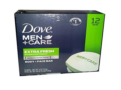 - Dove Men's Bar Extra Fresh, 12 Count