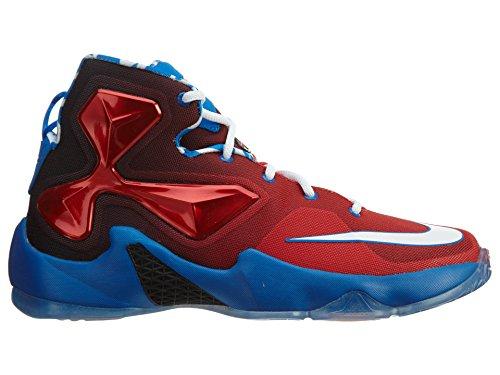 Nike Lebron Xiii (Gs), Zapatillas de Baloncesto para Niños carmesí brillante/blanco-negro (Bright Crimson/White-Soar-Black)