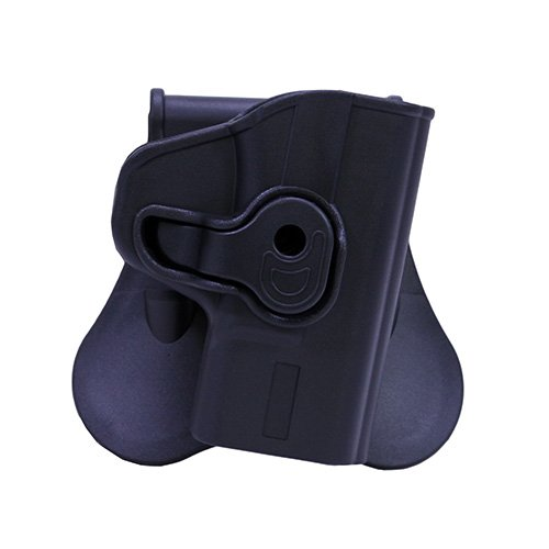 Bulldog Cases Rapid Release Polymer Holster (Fits S&W, M&P Shield), Black by Bulldog Cases