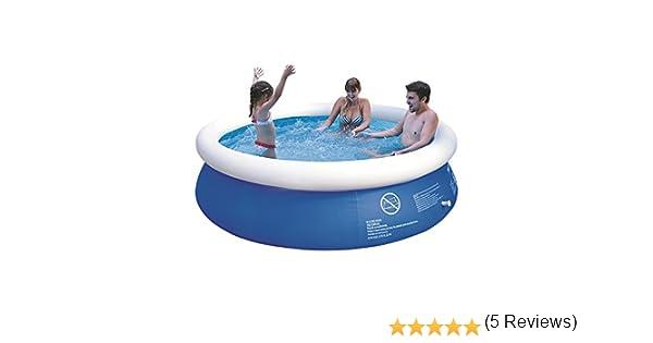 JILONG Prompt Set Pool Marin Blue 240 - Piscina Quick-up 240 x 63 ...