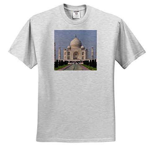 Mahal Tee (Cities Of The World - Taj Mahal In Delhi, India - T-Shirts - Toddler Birch-Gray-T-Shirt (4T) (TS_268675_33))