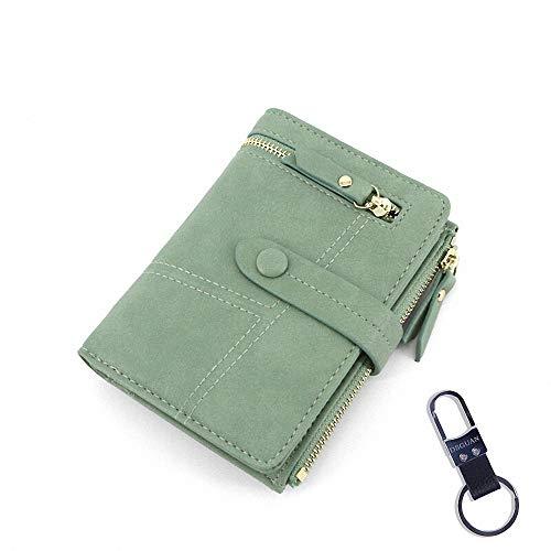 지갑 레이디스 반 접기 가죽 큰 금화 주머니 다기능 지갑 인기 카드 수납 / Wallet Women`s Bi-Fold Genuine Leather Large Capacity Saifi Multi-function Coin Purse Popular Card Storage