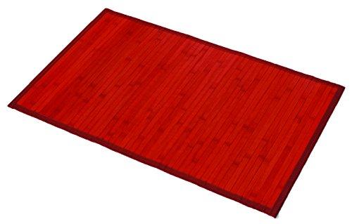 EVIDECO 7401 Bamboo Bath Mat Anti Slippery 31.5l X 20
