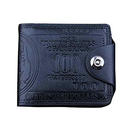 Amazon.com: MAGA 1 Men Wallets Letters Credit Card Holder ...
