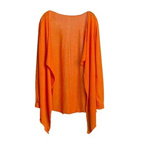 protezione Donna lungo solare Cardigan moda Amlaiworld G estive cime abbigliamento UqvxY