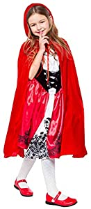 Little Red Riding Hood Costume for Girls Kids Halloween Costumes 2T 3T 4T 4 5 6 7 8 10 12